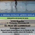Cartell 3ª Jornada Patinatge Artístic (El Prat de Llobregat)